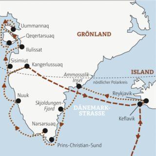 Entdeckerreisen Grönland-Island – Expeditionsschiff MS SEAVENTURE – Kabinenkategorie 1 Sonderreise 2022 | Erlebnisrundreisen.de