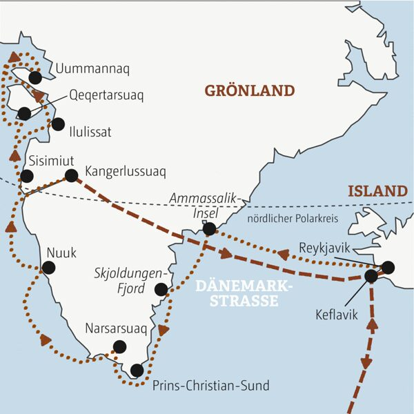 Grönland-Island Sonderreise 2022 | Erlebnisrundreisen.de