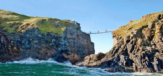 Carrick-a-Rede Hängebrücke - Tourism Ireland - © Tourism Ireland