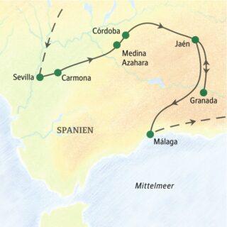 Entdeckerreisen Spanien – Von Parador zu Parador in Andalusien Sonderreise 2022   Erlebnisrundreisen.de