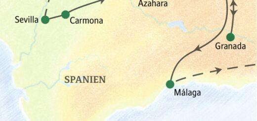 Entdeckerreisen Spanien – Von Parador zu Parador in Andalusien Sonderreise 2021 | Erlebnisrundreisen.de