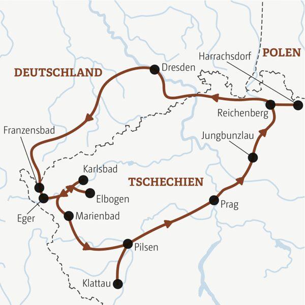 Tschechien Sonderreise 2022 | Erlebnisrundreisen.de