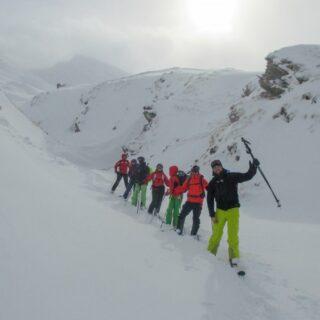 Österreich-Alpen-Ausbildung-Skitouren-Diffuses-Licht 2021 | Erlebnisrundreisen.de