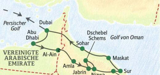 Eine Studienreise zu den Höhepunkten des Omans und der Vereinigten Arabischen Emirate 2022