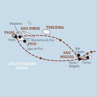 Knapp zwei Wochen Inselhüpfen auf Europas Außenposten im Atlantik: Sao Miguel