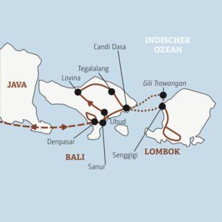 18-tägige Rundreise zu drei Inseln Indonesiens: Hindutempel auf Bali
