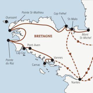 Rundreise durch Frankreichs wilden Nordwesten zu den Highlights der Bretagne Young Traveller