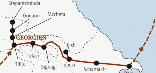 Rundreise durch Georgien und Aserbaidschan in zehn Tagen