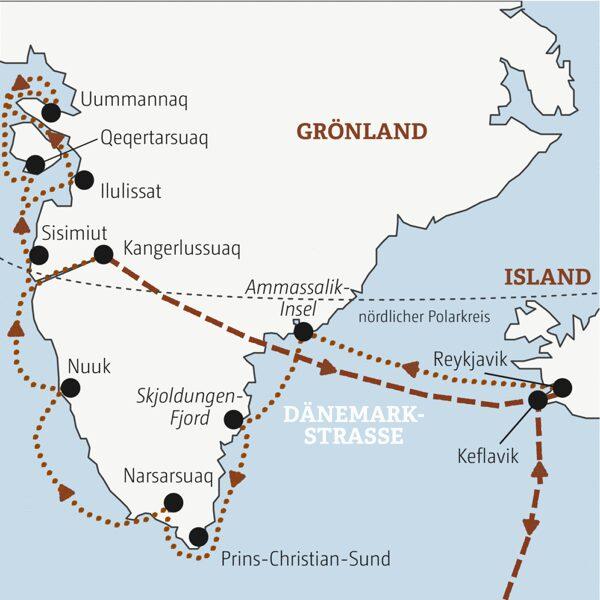 Grönland-Island Sonderreise 2022   Erlebnisrundreisen.de