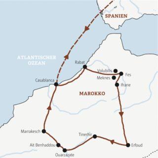 Rundreise durch Marokko – mit Ihrem einheimischen Scout immer ganz nah dran