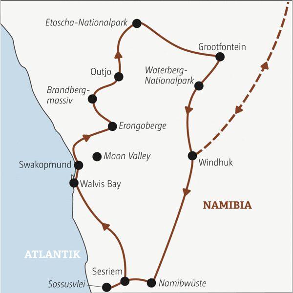 Namibia Rundreisen junge Leute 2021
