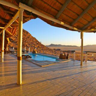 Namibia-Desert-Homestead-Outpost-Pool 2021   Erlebnisrundreisen.de
