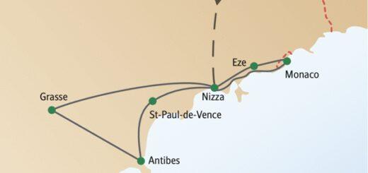 Städtereise nach Nizza mit anderen weltoffenen Singles und Alleinreisenden