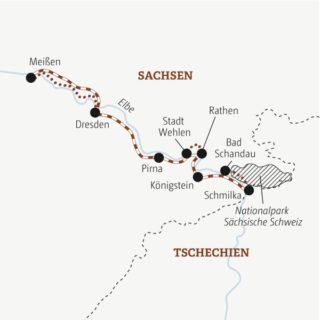 Eine Woche die schönsten Ecken der Sächsischen Schweiz und Dresdens bei viel Outdoor-Action erleben Young Traveller