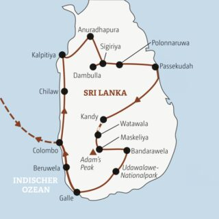 Vielfältige Rundreise in 17 Tagen zu den Höhepunkten Sri Lankas Young Traveller