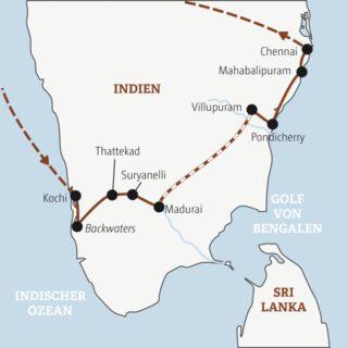 16 Tage vom Indischen Ozean zum Golf von Bengalen: Abwechslung pur in Südindien Young Traveller