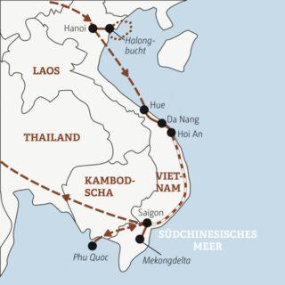 Spannend und abwechslungsreich: in 19 Tagen von Nord nach Süd durch ganz Vietnam Young Traveller
